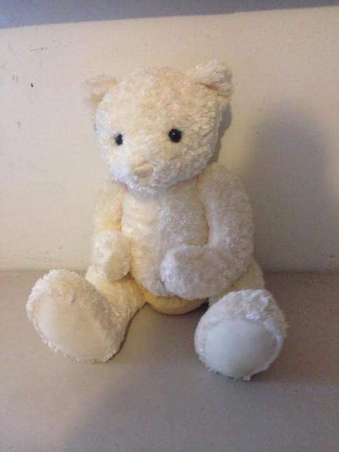 16'' Beige Stuffed Bear