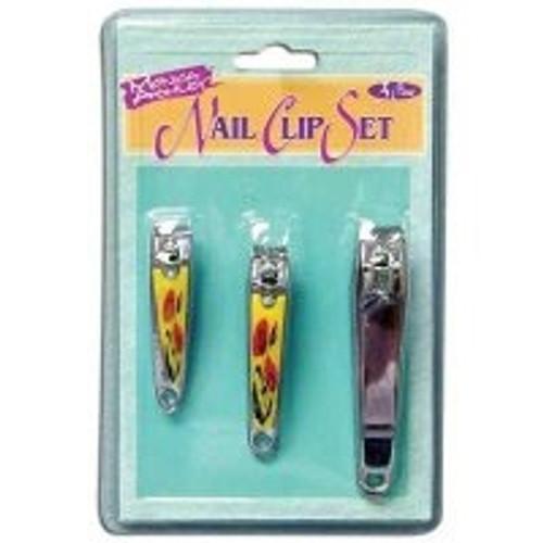 Monica Ashley 3-Piece Designer Series Pro Nail Clip Set