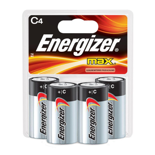 Energizer Max C 4 Pack Exp Date 3/19