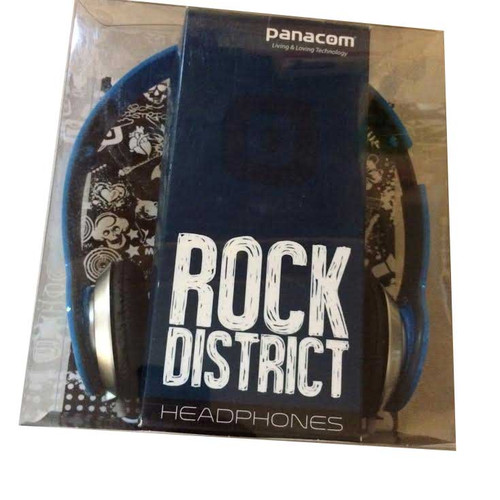 Panacom Blue Rock District Headphones