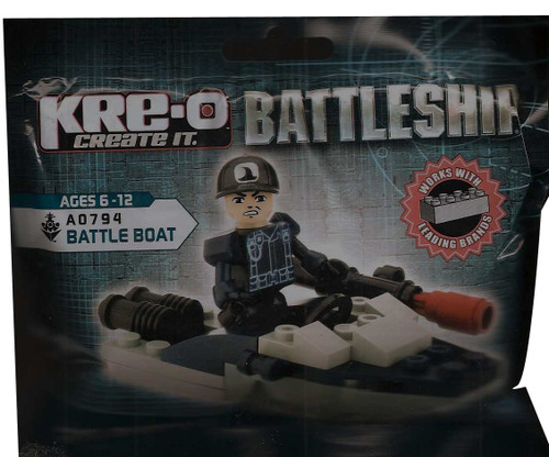 Kreo Battleship A0794 Battle Boat 26 pieces