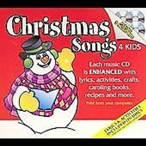 Christmas Songs 4 Kids 3-CD Set Box Set