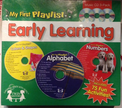 Early Learning CD , My First Playlist