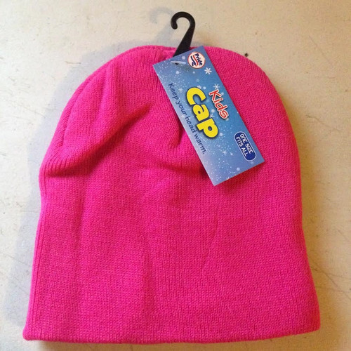 Kids Cap One Size Fits All : Pink
