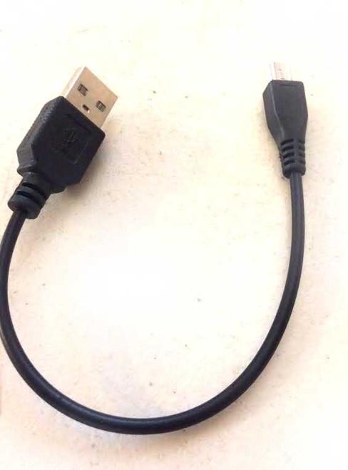 Micro Black USB 8.5in.