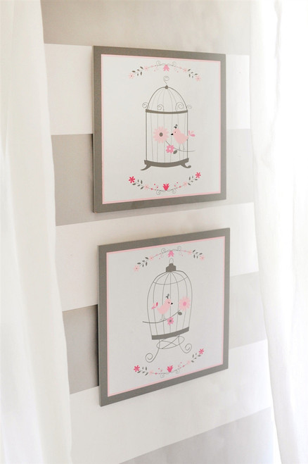 Olivia Rose Wall Decor BIRD CAGE