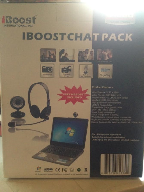 iBoost International  Chat Pack 81380 Built In Microphone