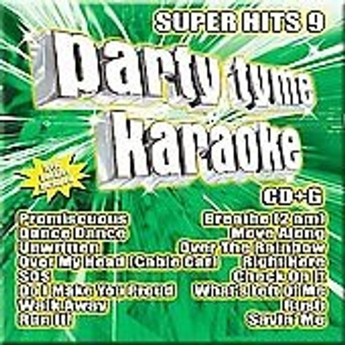 Party Tyme Karaoke Super Hits vol 9