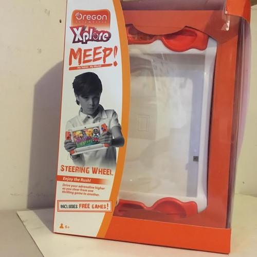 Xplore Meep Steering wheel My tablet my world