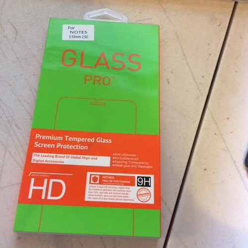 Glass Pro for Note 4s - 0.33 2.5 D