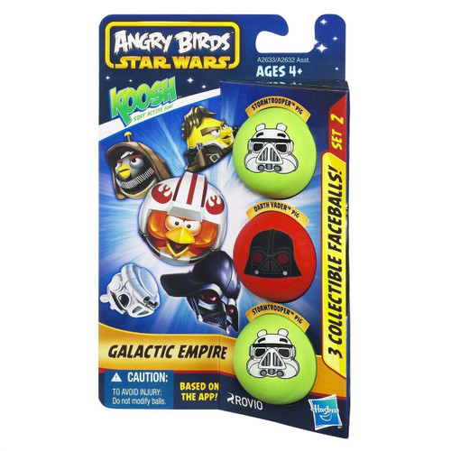 Koosh Angry Birds Star Wars Galactic Empire 3-Pack Rovio
