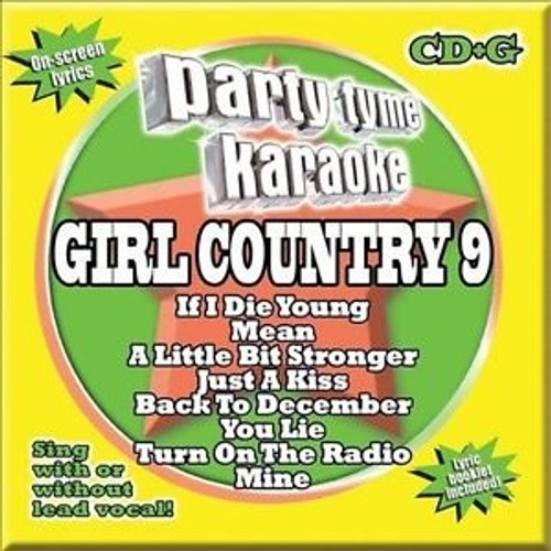 Party Tyme Karaoke Girl Country 9