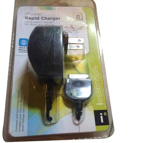 iessentials iPower Rapid Charger Rapid Travel charger for iPod and iPhone