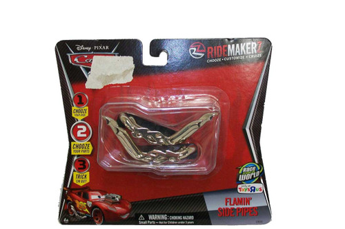 Toys R Us Ridemakerz -Disney Cars 2 Flamin Side Pipes