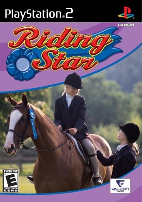 Riding Star (Sony PlayStation 2, 2008) Brand New And Sealed!