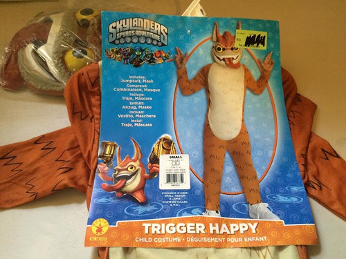 Skylanders Spyros Adventure: Trigger Happy Costume Small (4-6)