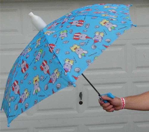 """Children Automatic 33"""" Umbrellas W/ Cup  (Super-Cute First Umbrella For Your Child, With A Fun Safety Whistle)"""