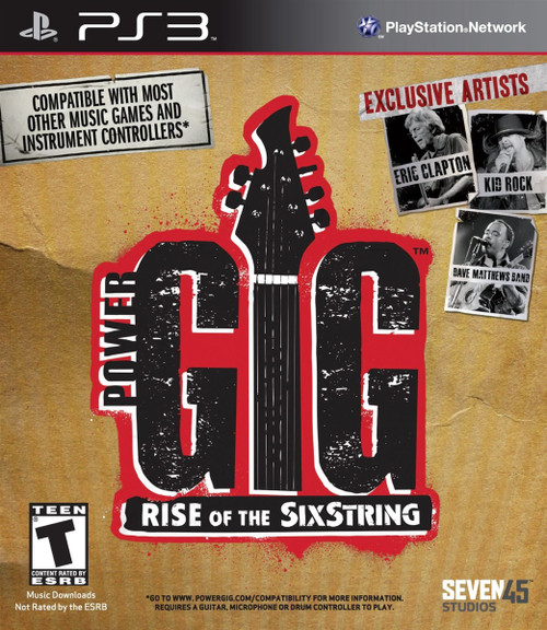Power Gig: Rise of the SixString - Playstation 3 (Game Only)