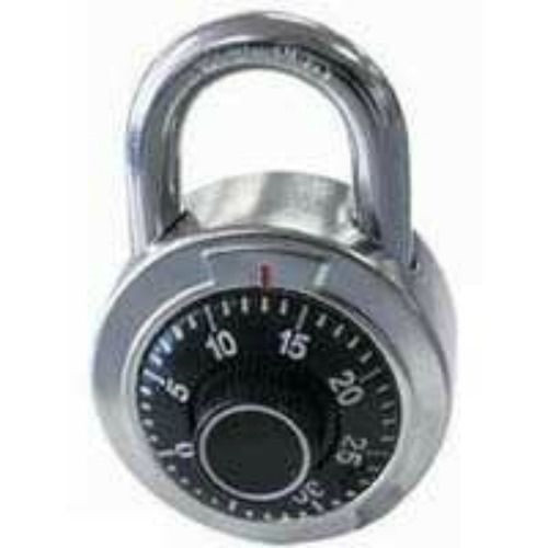 Hardened Steel Shackle Dial Combination Luggage Suitcase Locker Lock Padlock