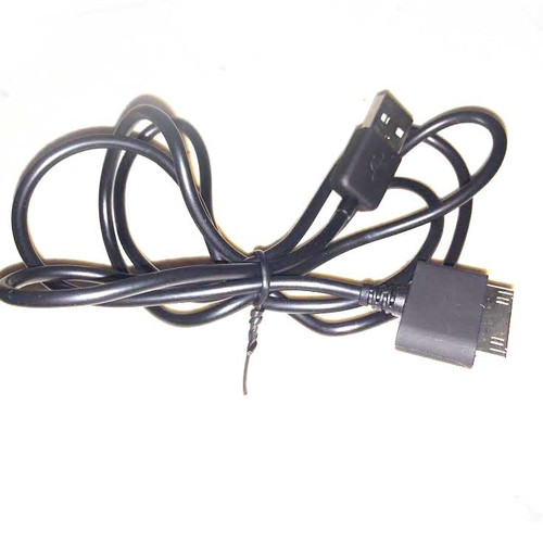 30 Pin iPhone 4 Charging Cable BLACK