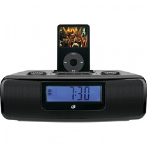 (FOR PARTS ONLY - DO NOT WORK)  Set of FOUR:  Clock Radio System Dock for iPod am/fm Radio Dual Alarms