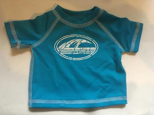 Blue New Born Swimshirt