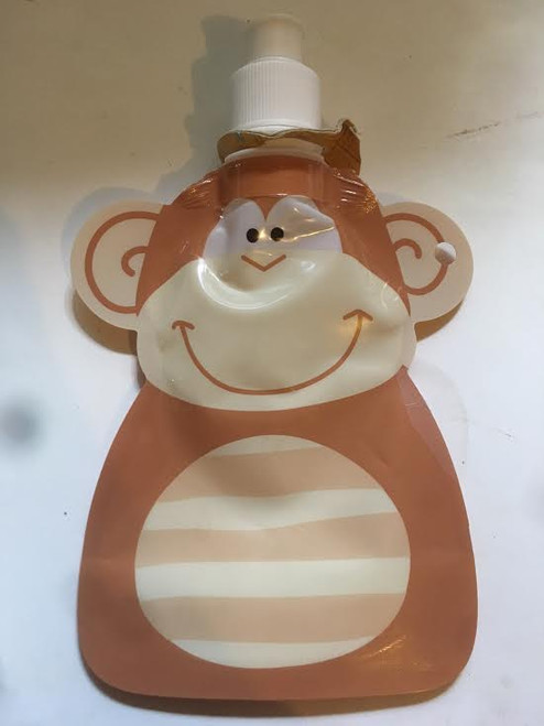 Monkey Plastic Deflatable Bottle