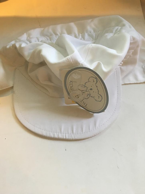 White Swimming Hat