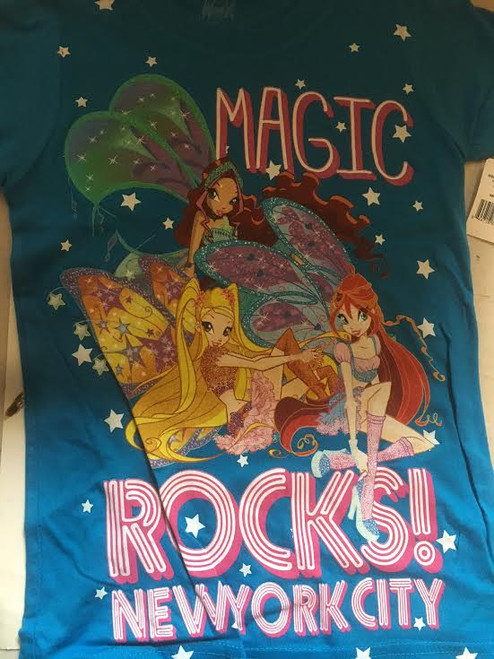 Nickelodean Blue Magic Rock T- Shirt