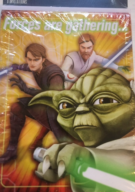 Star Wars Invitaions (8 Pack)