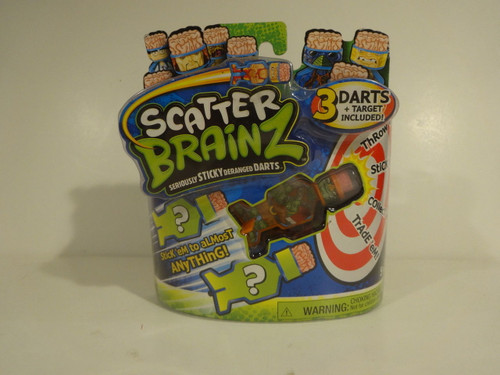 Scatter Brainz 3 Darts and one Target