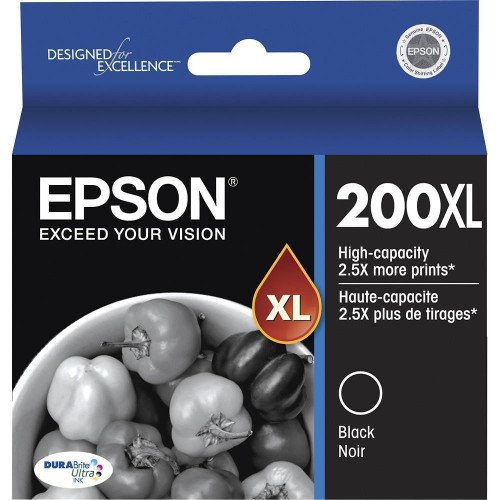 Epson 200XL Ink Black/Noir