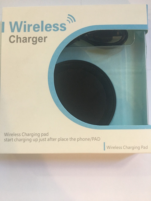 Black Wireless Charging Pad