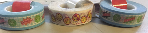 3x Decorative Tape, 2 Designs!