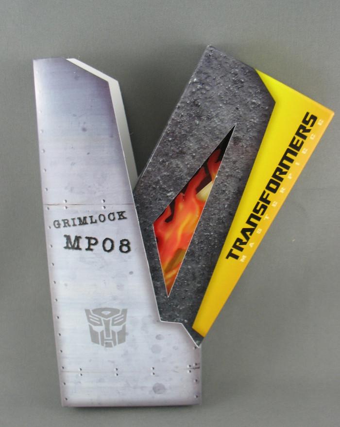 MP-08 Masterpiece Grimlock Crown and Flaming Sword