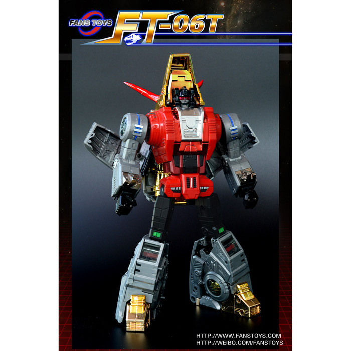 Fans Toys FT-04T - Scoria Colored Version