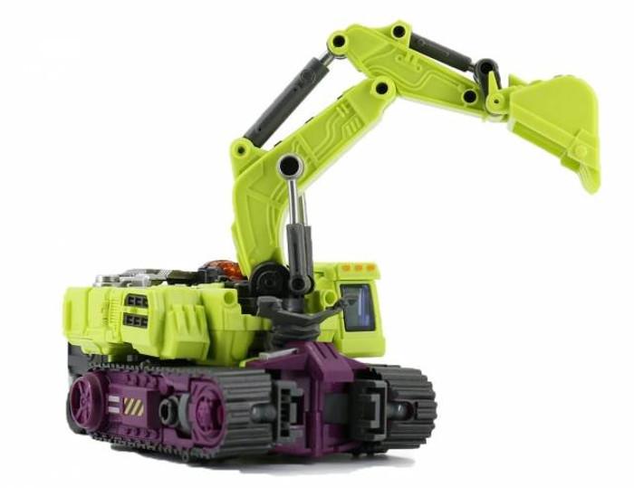 Generation Toy - Gravity Builder - GT-01C Excavator