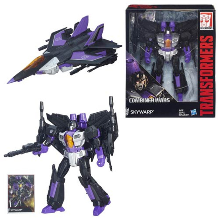 Transformers Generations Combiner Wars Leader Skywarp