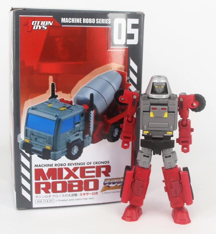 Machine Robo - MR-05 - Mixer Robo (Gobots Reboot)
