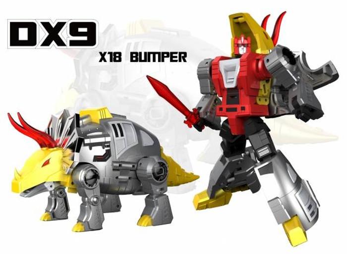 DX9 - War in Pocket - X18 Bumper