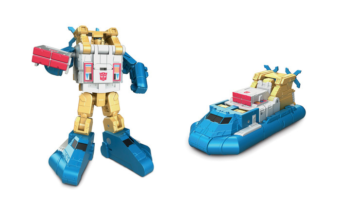 Transformers Generations Titans Return - Legends Class Seaspray
