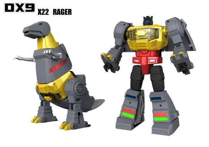 DX9 - War in Pocket - X22 Rager