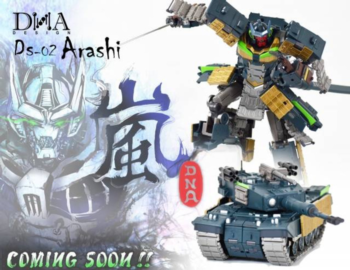 DNA Design - DS-02 - Arashi