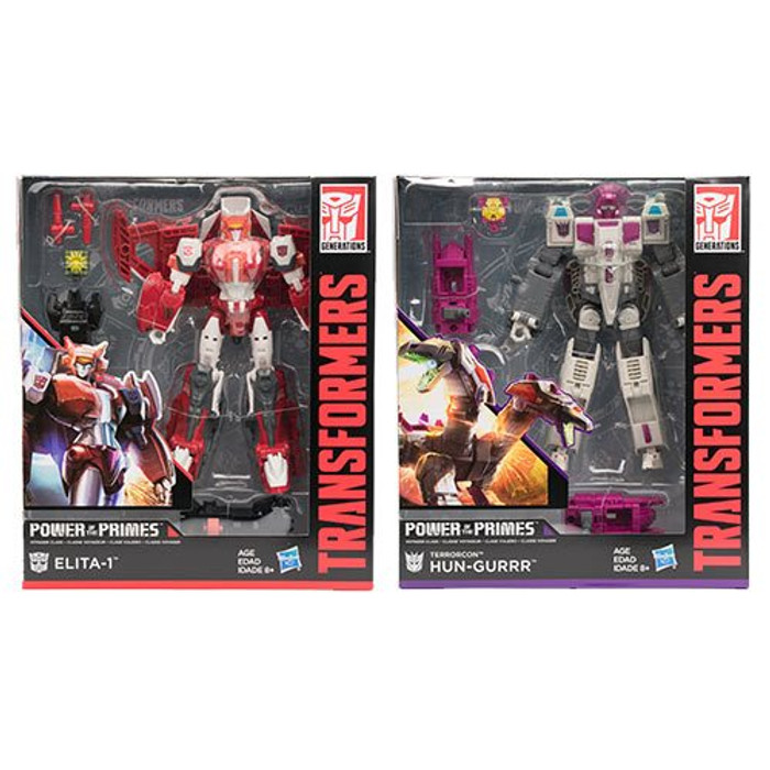 Transformers Generations Power of The Primes - Voyager Wave 2 - Set of 2