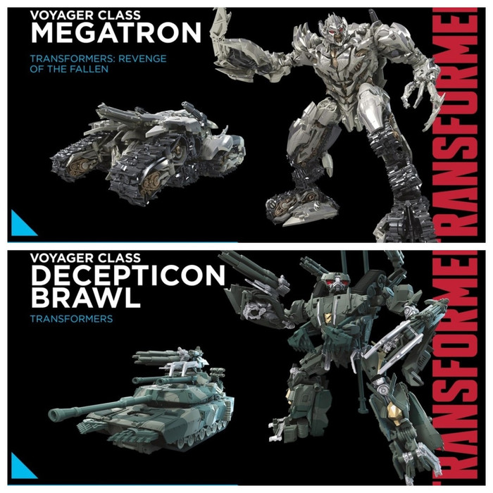 Transformers Generations Studio Series - Voyager Wave 2 - Set of 2