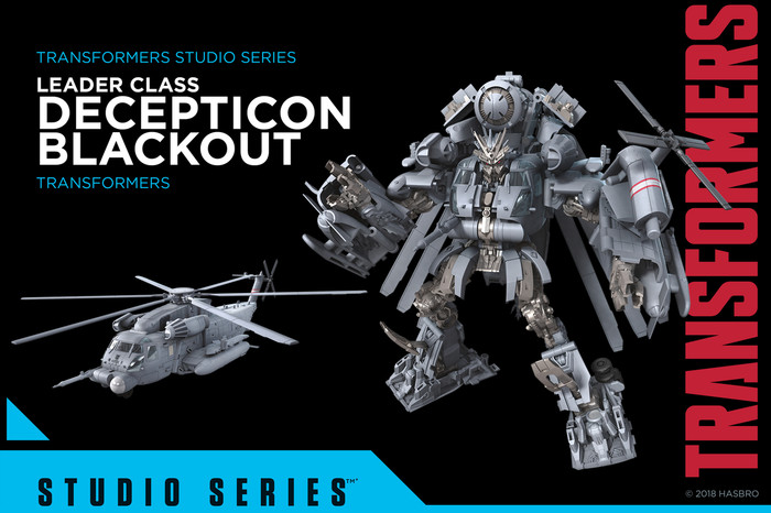 Transformers Generations Studio Series - Leader Blackout