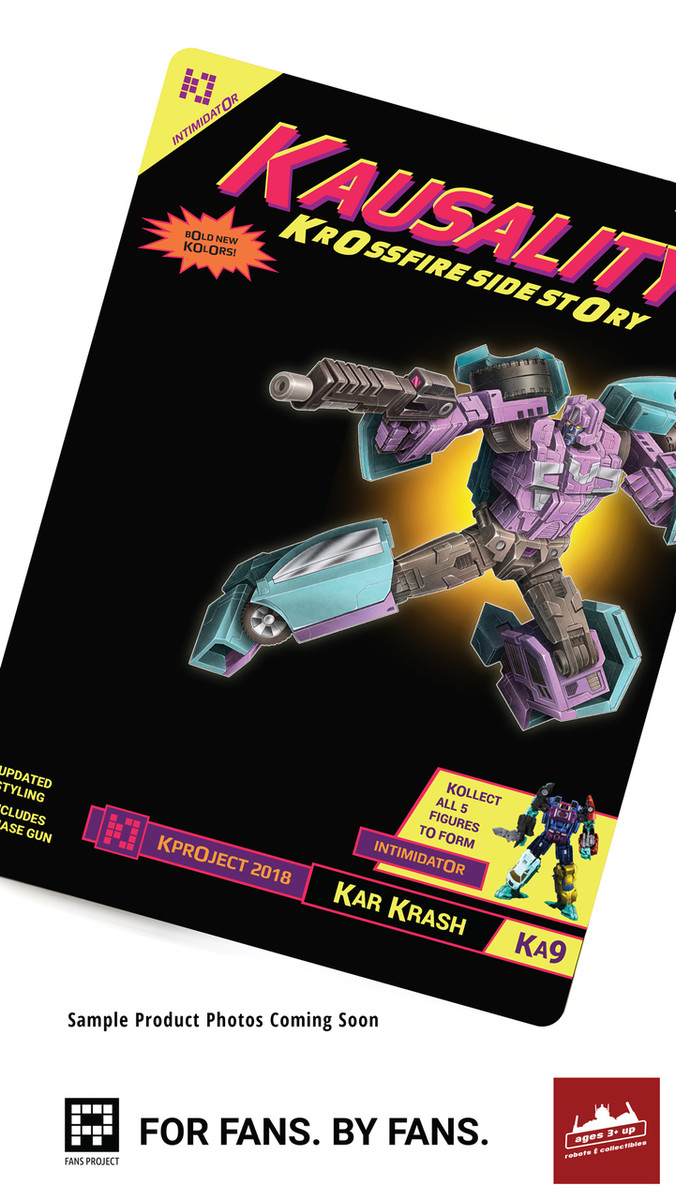 FansProject - Kausality KA-09 Kar Krash New Card Reissue (A3U Exclusive)