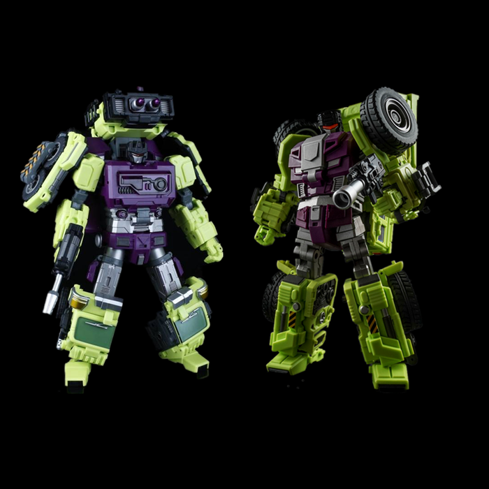 Jin Bao - Defermation - Destroy Force Builder D - Part B Set of 2