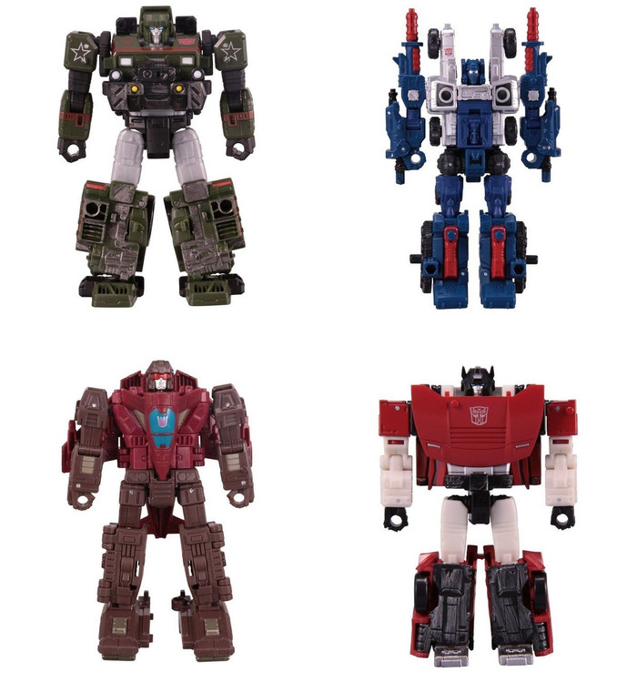 Transformers Generations Siege - Deluxe Wave 1 Set of 4