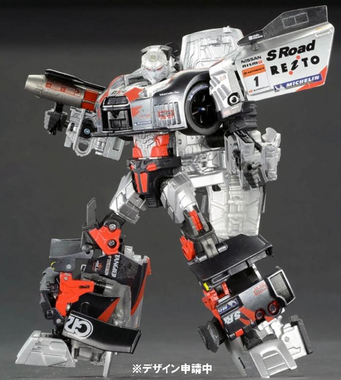 Alternity Transformers x Super GT 03 GTR Megatron